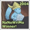 badge: NaNoWriMo winner 2004